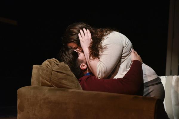 Kathryne Daniels as Olivia and Matthew Lindsay Payne as Ethan