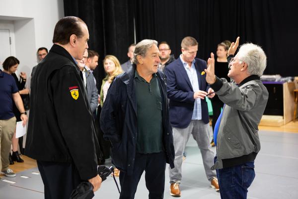 Photo Flash: In Rehearsal with De Niro, Palminteri, Zaks & the National Tour of A BRONX TALE