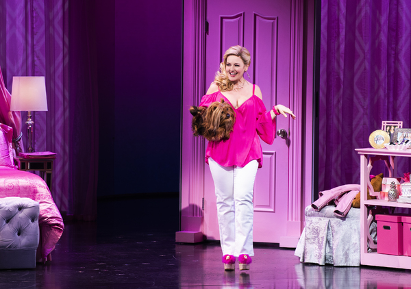 Jenninfer Simard as Mrs. George in MEAN GIRLS. Photo by Jenny Anderson. Photo