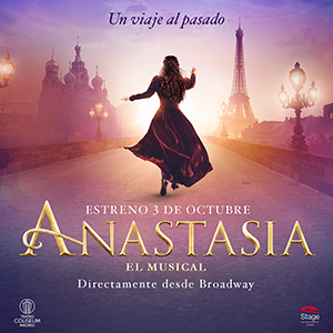 BroadwayWorld Spain te invita a ver ANASTASIA EL MUSICAL