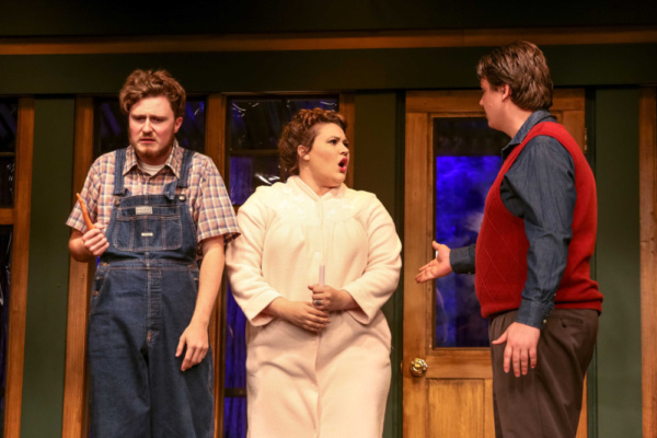 Ellard (Charlie Stevens), Catherine (Caiti Burke) & David (Cody Wyld Flower)