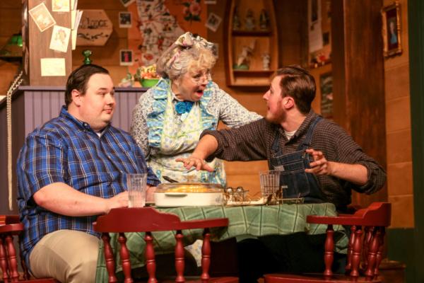 Charlie (Blake R. York), Betty (Jen Aylsworth) & Ellard (Charlie Stevens) Photo