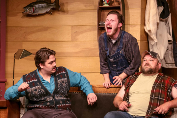David (Cody Wyld Flower), Ellard (Charlie Stevens) & Owen (Brian Cox) Photo