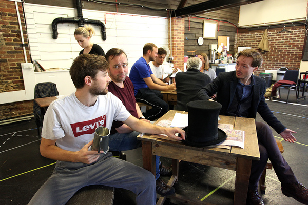 Photo Flash: Inside Rehearsal For TRIAL BY LAUGHTER at the Watermill Theatre