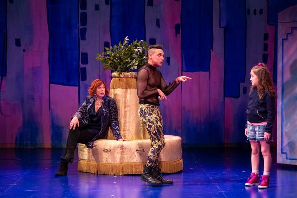 Carolee Carmello, Nick Cearley and Sarah McKinley Austin