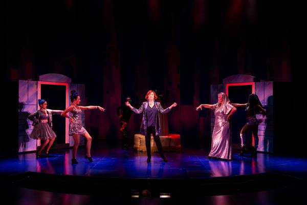 Jeanine Bruen, Elizabeth Ritacco, Nick Cearley, Carolee Carmello, Mary Callanan and Hillary Fisher