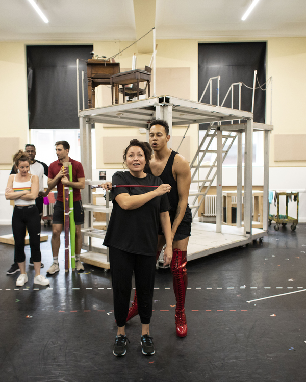 Photo Flash: Go Inside Rehearsal For the UK Tour of KINKY BOOTS