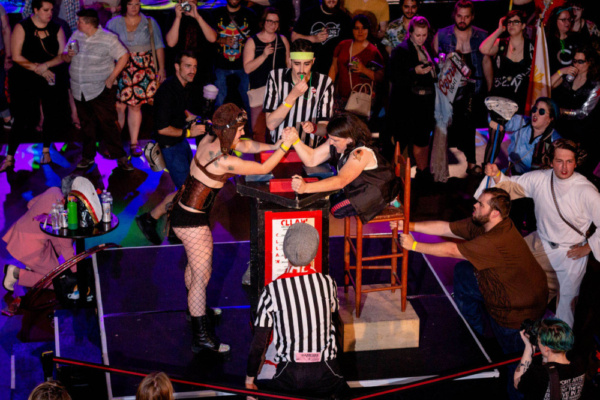 Photo Flash: The Chicago League Of Lady Arm Wrestlers Hosts CLLAW XXXI: Fall Brawl
