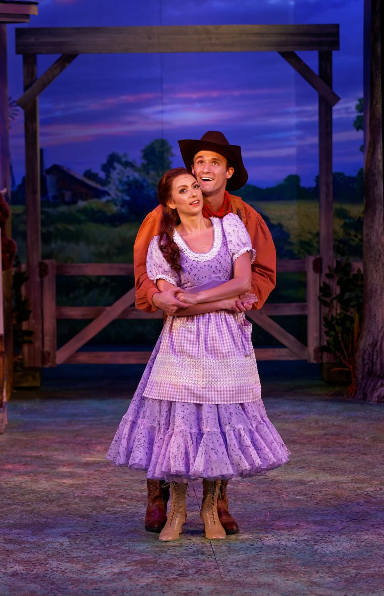 BWW Review: 75th Anniversary Production of OKLAHOMA! at Stages St. Louis is a Bang-Up, Boot-Stompin' Good Time