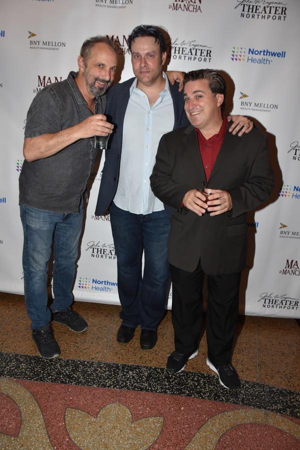 Bruce Winant, Richard Todd Adams and Carlos Lopez Photo