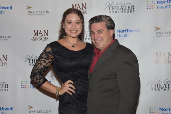 Leila Scandar and Carlos Lopez