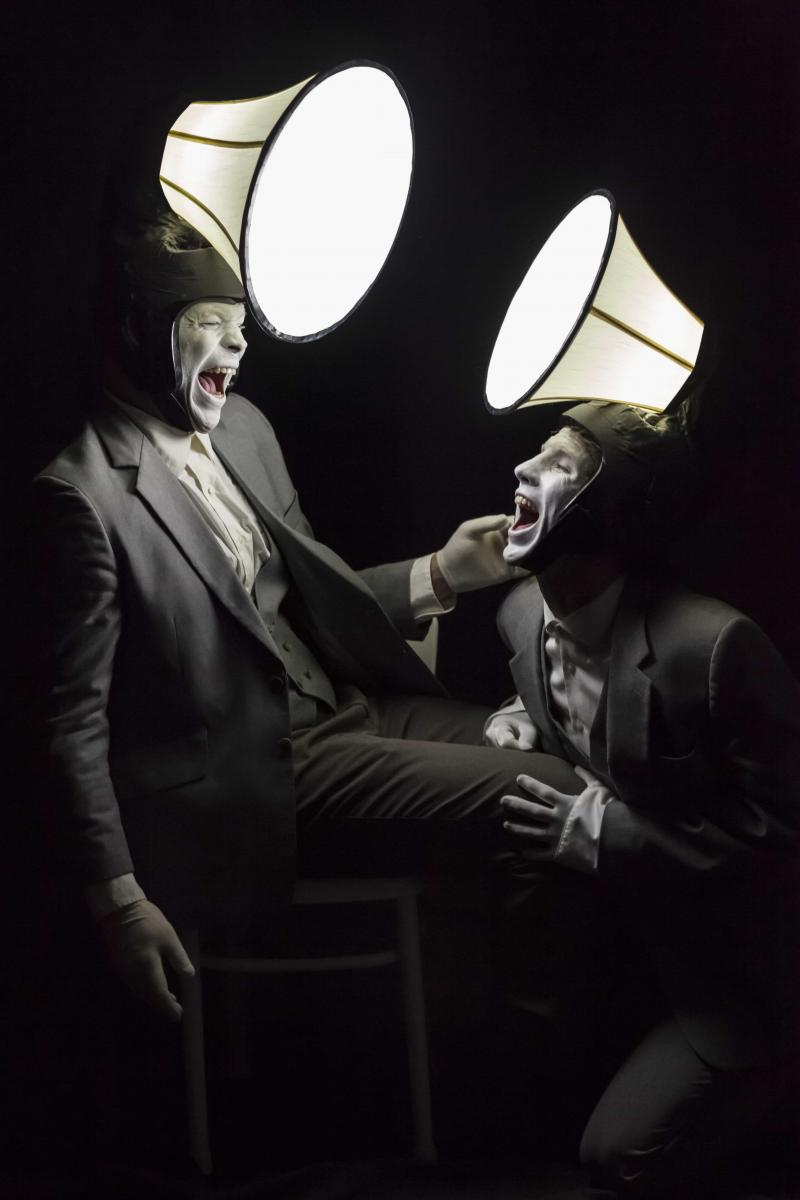 BWW Review: JAMES AND JAMESY: IN THE DARK is a Charming and Absurdist Existential Jaunt