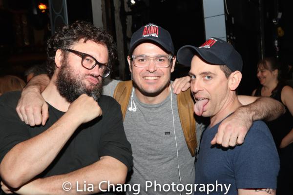 Jay Klaitz, Mitchell Jarvis and Garth Kravits