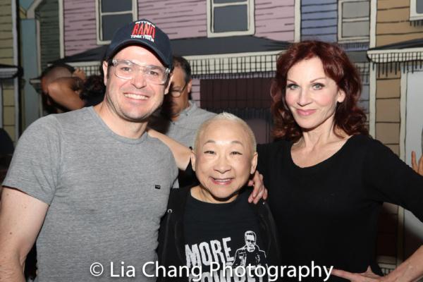 Mitchell Jarvis, Lori Tan Chinn, Marilu Henner