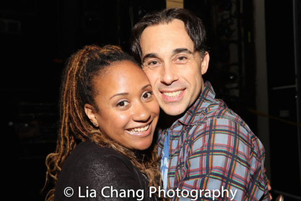 Tracie Thoms and Ryan Duncan