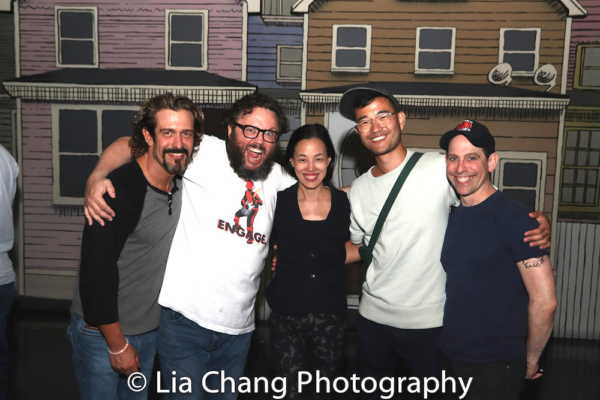 Brandon Williams, Jay Klaitz, Lia Chang, Daniel K. Isaac and Garth Kravits