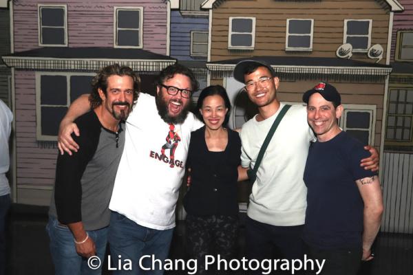 Brandon Williams, Jay Klaitz, Lia Chang, Daniel K. Isaac and Garth Kravits Photo