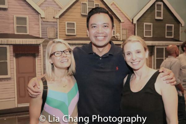 Celia Keenan Bolger, Jose Llana and Sarah Saltzberg