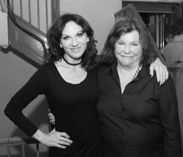 Marilu Henner and Marsha Mason