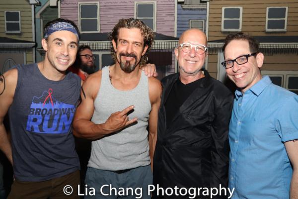 Ryan Duncan, Brandon Williams, Paul Shaffer and Garth Kravits. Photo