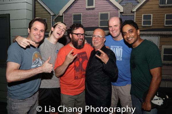 Mitchell Jarvis, Sawyer Nunes, Jay Klaitz, Paul Shaffer, Paul Whitty and Manu Narayan Photo