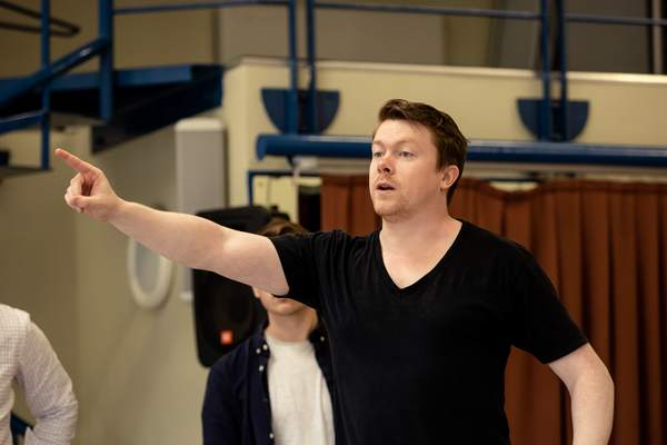 Photo Flash: Inside Rehearsal For A MIDSUMMER NIGHT'S DREAM at Sheffield Theatres