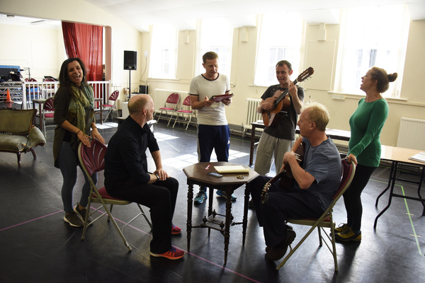 Photo Flash: Inside Rehearsal For THEY DON'T PAY? WE WON'T PAY!