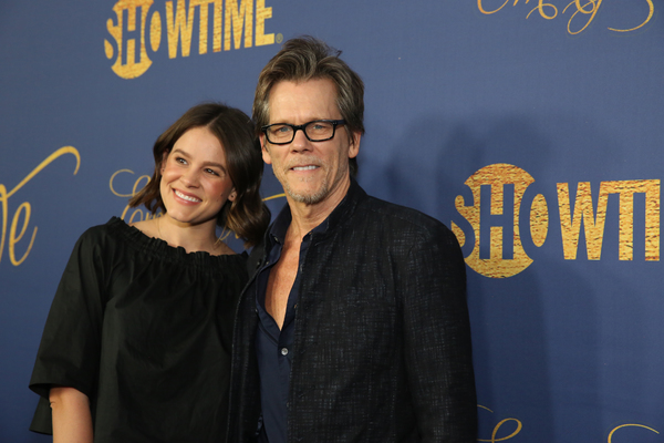 Sosie Bacon and Kevin Bacon  Photo