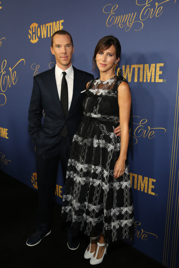 Benedict Cumberbatch and Sophie Hunter Photo