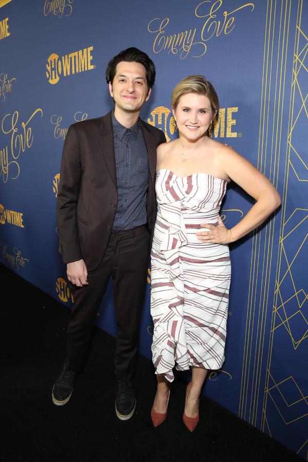 Ben Schwartz and Jillian Bell