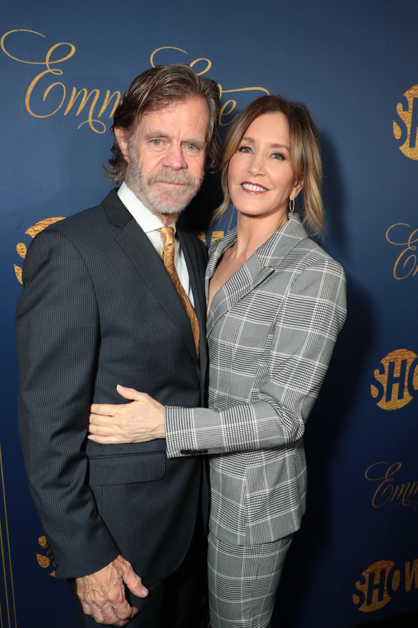 William H. Macy and Felicity Huffman  Photo