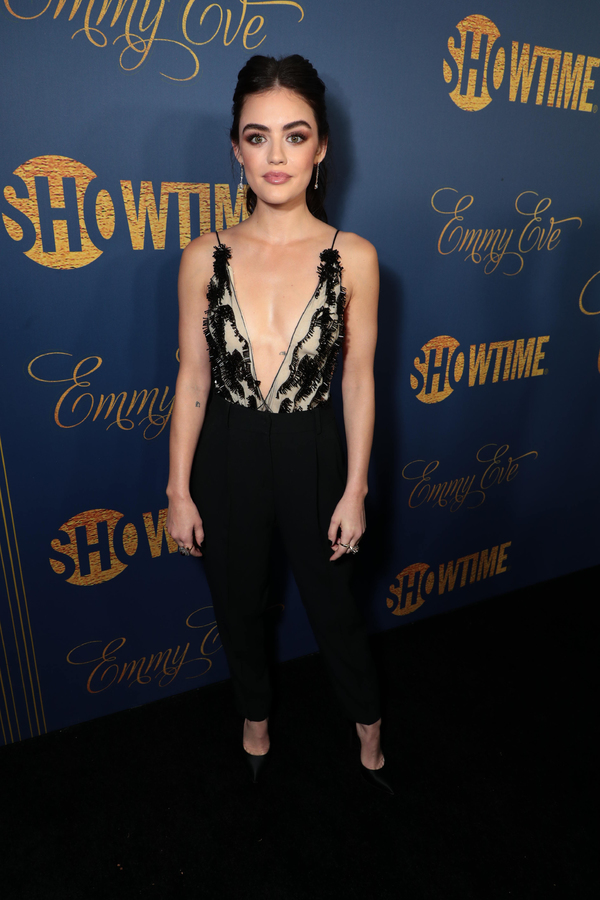 Lucy Hale pictured at Showtime's Emmy Eve Photo