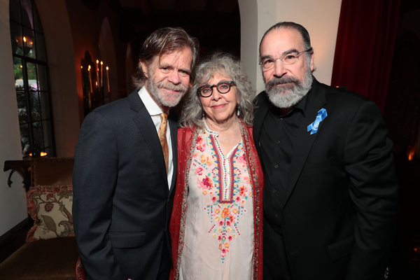 William H. Macy, Kathryn Grody and Mandy Patinkin