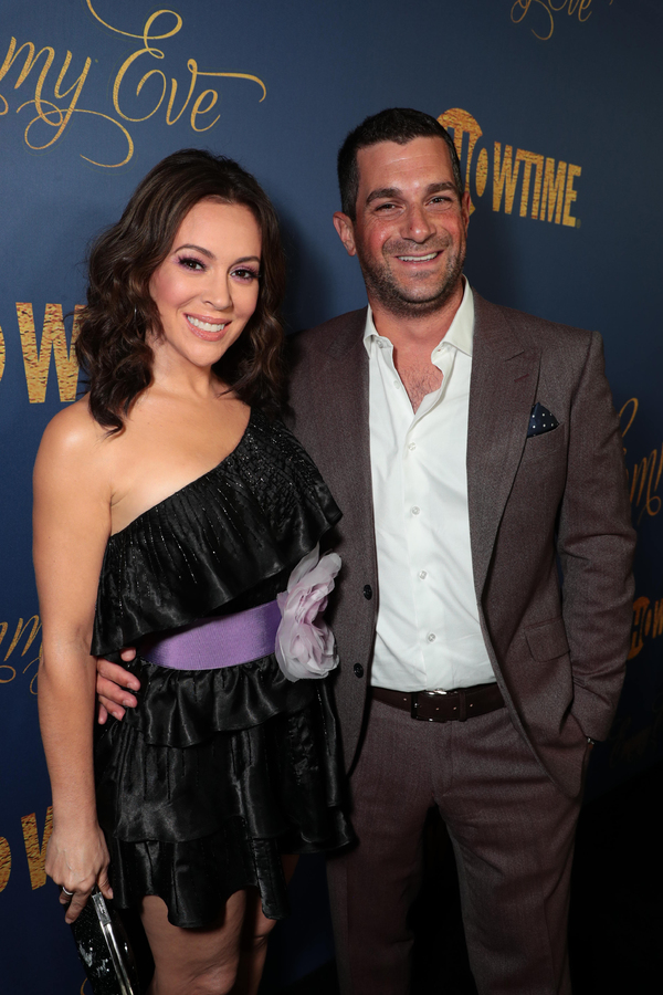 Alyssa Milano and Dave Bugliari  Photo