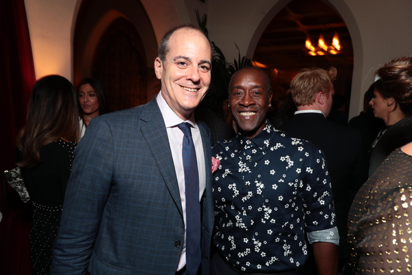 David Nevins and Don Cheadle