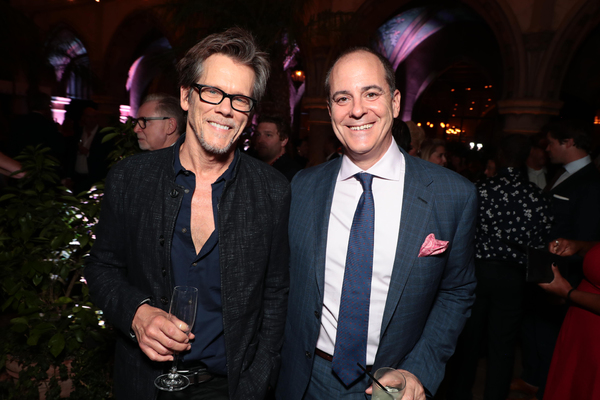 Kevin Bacon and David Nevins  Photo