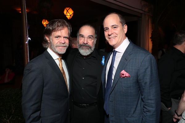 William H. Macy, Mandy Patinkin and David Nevins