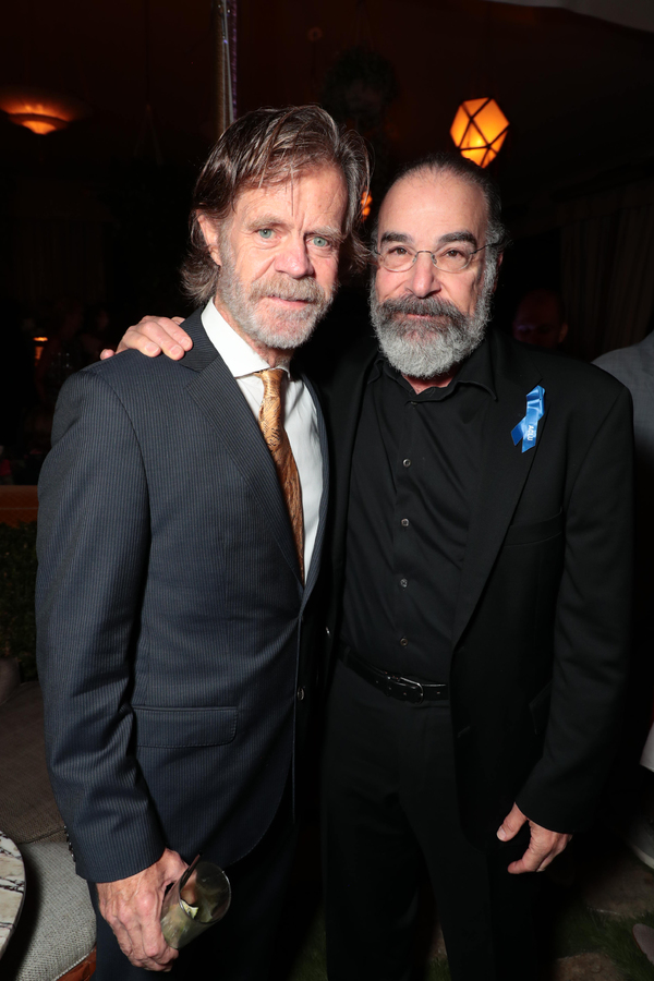 William H. Macy and Mandy Patinkin