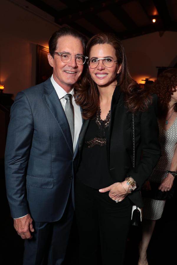 Kyle MacLachlan and Desiree Gruber  Photo