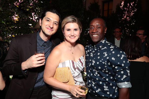 Ben Schwartz, Jillian Bell and Don Cheadle Photo