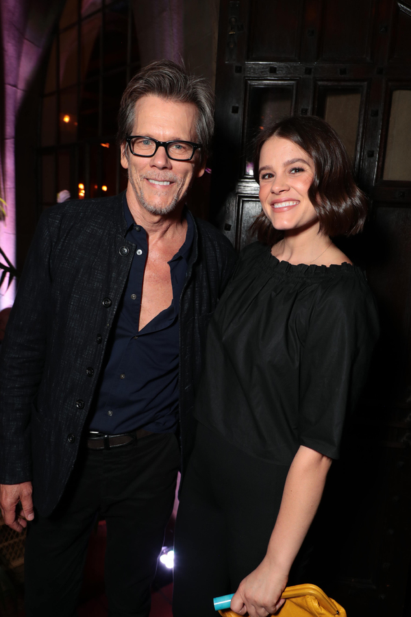 Kevin Bacon and Sosie Bacon