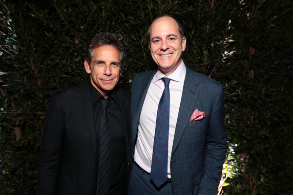 Ben Stiller and David Nevins