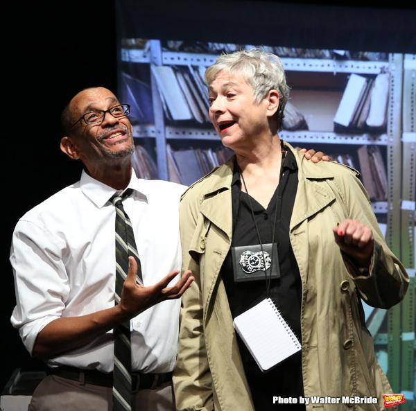 """Royston Scott and Colleen O'Neill from the Cast of """"Tony Stinkmetal's SlashR"""" Photo"""