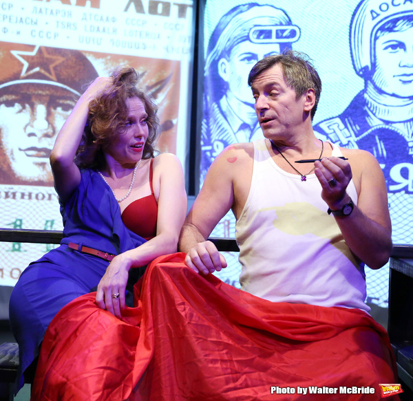 "Heather Litteer and David Ilku from the Cast of ""Tony Stinkmetal's SlashR"" Photo"