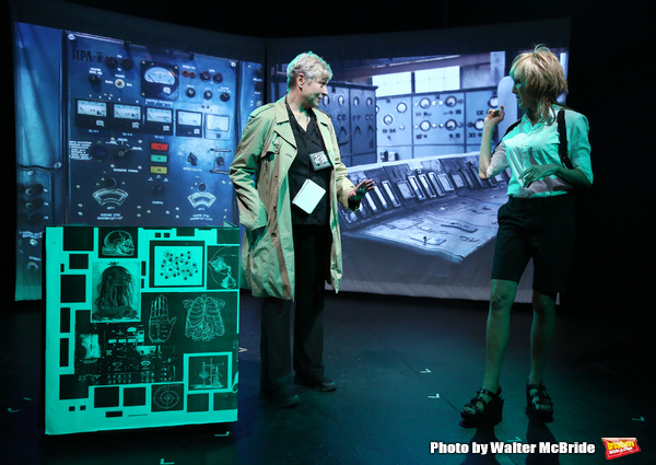 "Colleen O'Neill and Nora Burns from the Cast of ""Tony Stinkmetal's SlashR"" Photo"