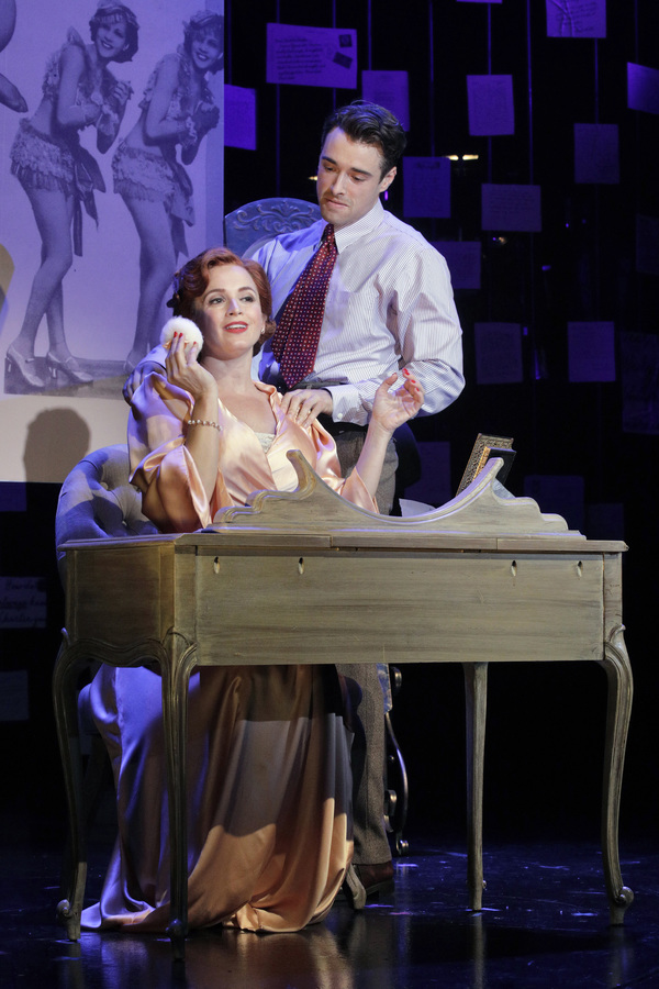 Emily Padgett and Corey Cott in LAST DAYS OF SUMMER