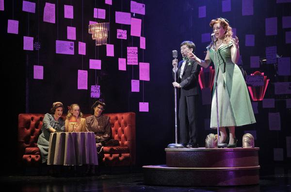 Lauren Braton, Josephine Pellow, Katie Karel, Robbie Berson and Emily Padgett in LAST Photo