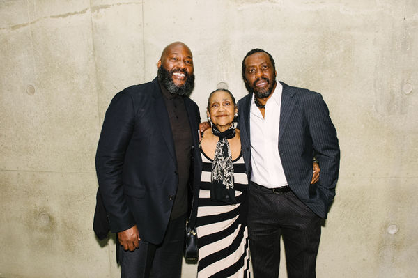 Christian Gregory, Lillian Gregory and Edwin Lee Gibson (Dick Gregory)
