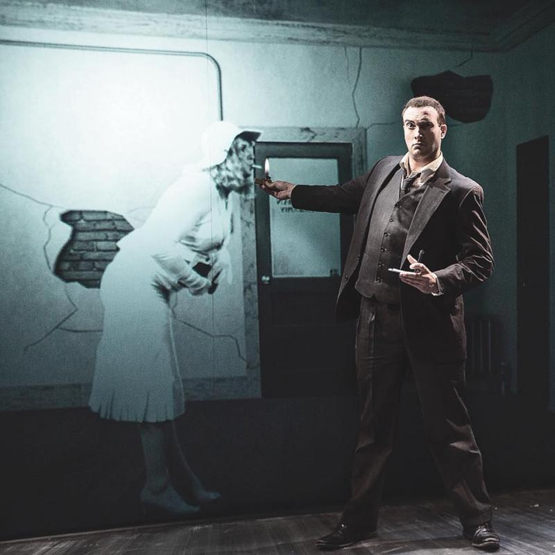 BWW Review: NOIR: THE 3D/4D SEMI-CINEMATIC SATIRICAL THRILLER at The Eagle Theatre