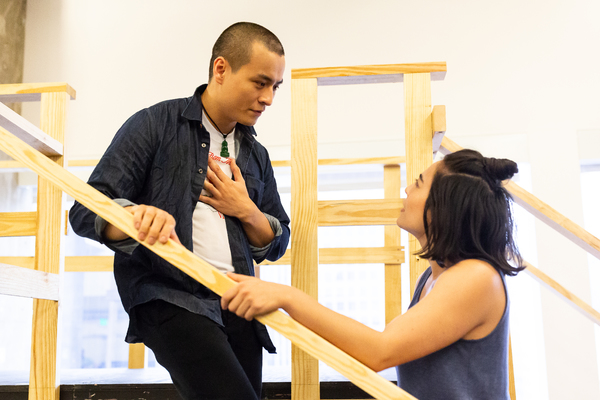 David Huynh and Kim Blanck